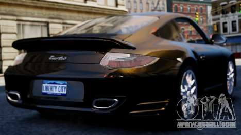 Porsche 911 Turbo for GTA 4 left view