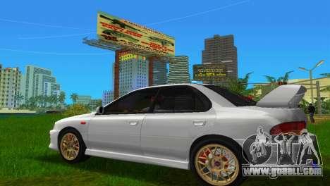Subaru Impreza WRX STI GC8 Sedan Type 3 for GTA Vice City left view
