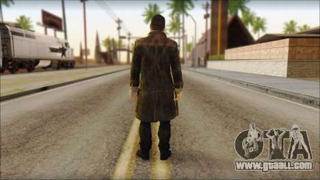 Aiden Pearce from Watch Dogs for GTA San Andreas second screenshot