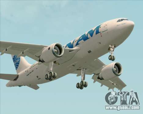 Airbus A310-324 Pan American World Airways for GTA San Andreas side view