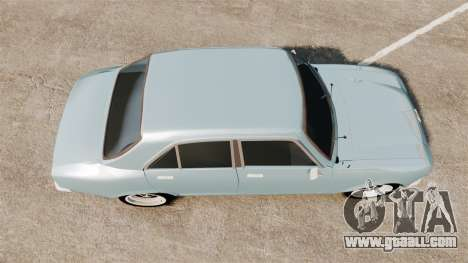 Peugeot 504 for GTA 4 right view
