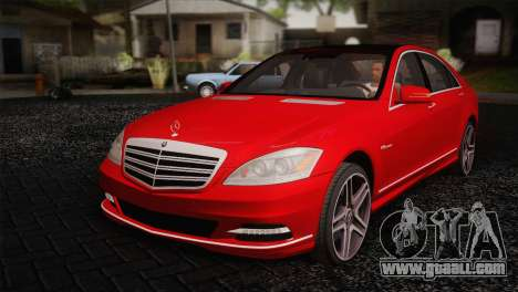 Mercedes-Benz S70 W221 for GTA San Andreas