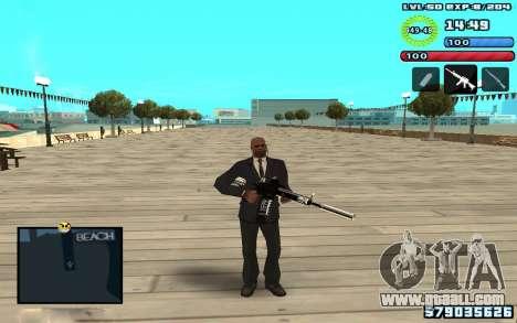 C-HUD by SampHack v10 for GTA San Andreas third screenshot
