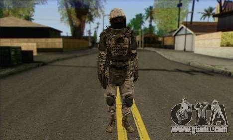 Task Force 141 (CoD: MW 2) Skin 3 for GTA San Andreas