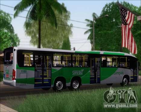 Comil Svelto BRT Scania K310IB 6x2 Sorocaba for GTA San Andreas right view