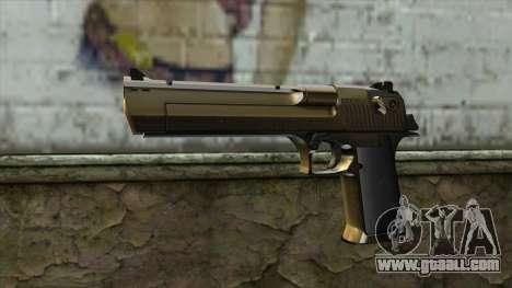 Graffiti Desert Eagle v2 for GTA San Andreas
