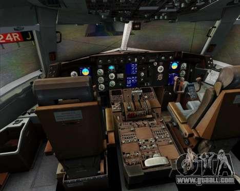 Boeing 767-300ER F TAM Cargo for GTA San Andreas interior