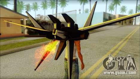Machine Wing Jetpack for GTA San Andreas third screenshot