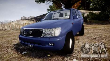 Toyota Land Cruiser for GTA 4