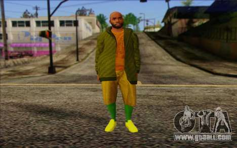 Grove Street Dealer from GTA 5 for GTA San Andreas