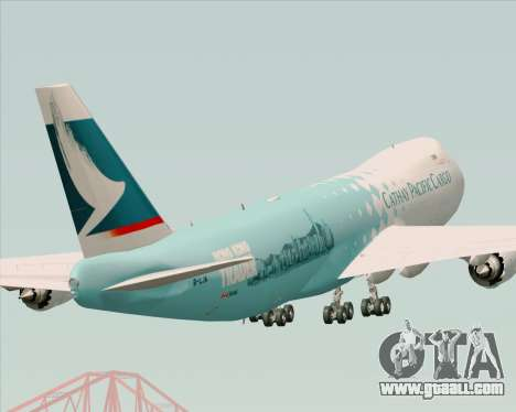 Boeing 747-8 Cargo Cathay Pacific Cargo for GTA San Andreas side view