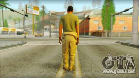 GTA 5 Soldier v3 for GTA San Andreas second screenshot
