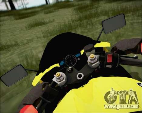Yamaha R1 HBS Style for GTA San Andreas right view
