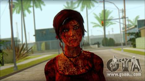 Tomb Raider Skin 9 2013 for GTA San Andreas third screenshot