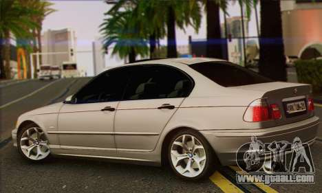 BMW 320i for GTA San Andreas left view