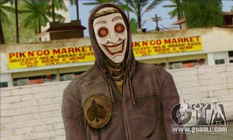 Gangster Joker (Injustice) for GTA San Andreas third screenshot