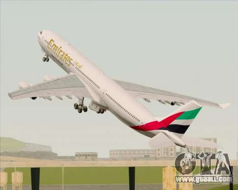 Airbus A340-313 Emirates for GTA San Andreas