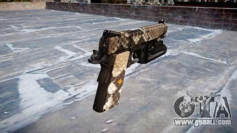 Gun Kimber 1911 Viper for GTA 4 second screenshot