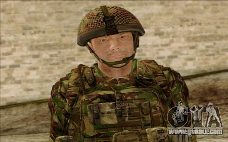 British soldiers (ArmA II: BAF) v1 for GTA San Andreas third screenshot