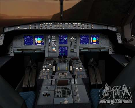 Airbus A330-300P2F UPS Airlines for GTA San Andreas interior