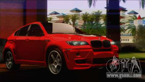BMW X6M Lumma for GTA San Andreas