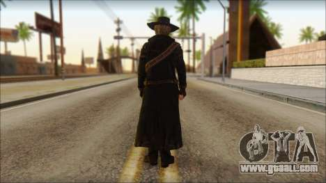 Ray McCall Gunslinger for GTA San Andreas second screenshot