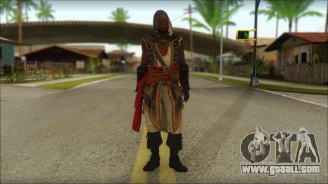 Adewale from Assassins Creed 4: Freedom Cry for GTA San Andreas