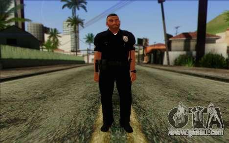 Police (GTA 5) Skin 4 for GTA San Andreas