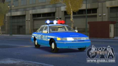 Ford Crown Victoria 1994 NYPD for GTA 4