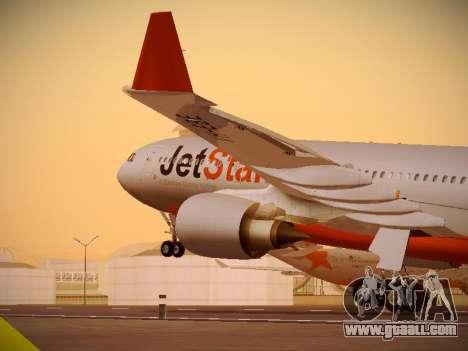 Airbus A330-200 Jetstar Airways for GTA San Andreas