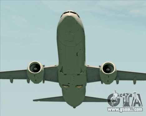 Boeing 737-89L Air China for GTA San Andreas bottom view