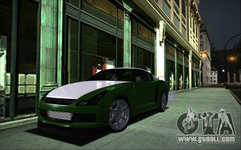 Elegy RH8 Tunable v1 for GTA San Andreas back left view