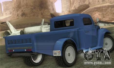 Bravado Duneloader Classic 1.0 (IVF) for GTA San Andreas left view