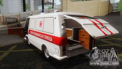 RAF 22031 Latvia - Ambulance for GTA San Andreas side view