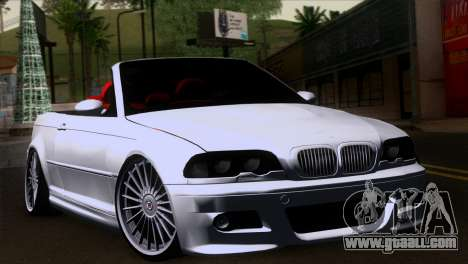 BMW M3 E46 Cabrio for GTA San Andreas