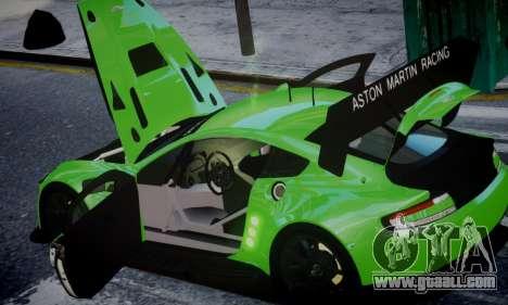 Aston Martin Vantage GTE for GTA 4 right view