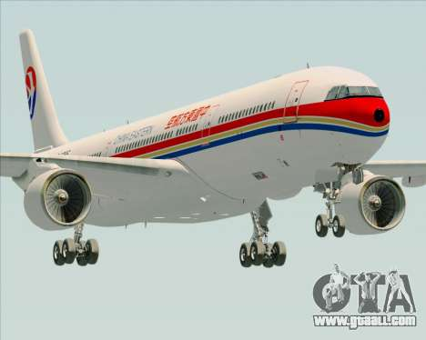 Airbus A330-300 China Eastern Airlines for GTA San Andreas