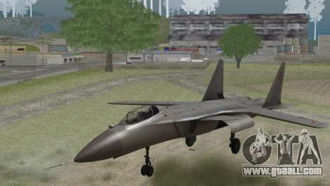 Sukhoi SU-47 Berkut from H.A.W.X. 2 Stealth Skin for GTA San Andreas