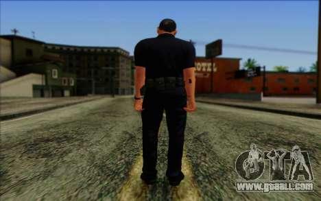 Police (GTA 5) Skin 4 for GTA San Andreas second screenshot