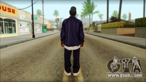Eazy-E Blue v2 for GTA San Andreas second screenshot