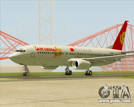 Boeing 737-89L Air China for GTA San Andreas right view