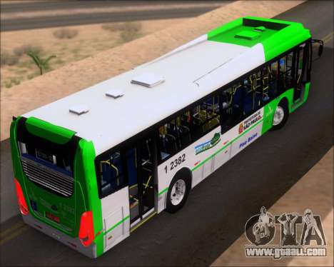 Caio Induscar Millennium BRT Viacao Gato Preto for GTA San Andreas back view