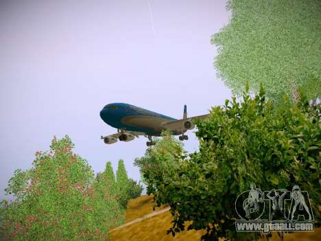 Airbus A340-300 Aerolineas Argentinas for GTA San Andreas left view