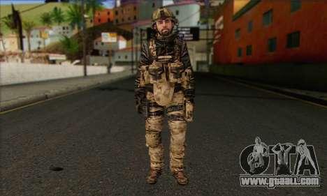 Task Force 141 (CoD: MW 2) Skin 14 for GTA San Andreas