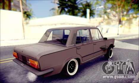 Fiat 125P Shark for GTA San Andreas left view
