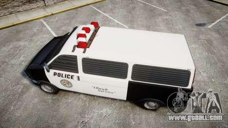 Declasse Burrito Police for GTA 4 right view