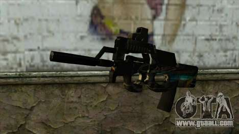 P90 from PointBlank v2 for GTA San Andreas