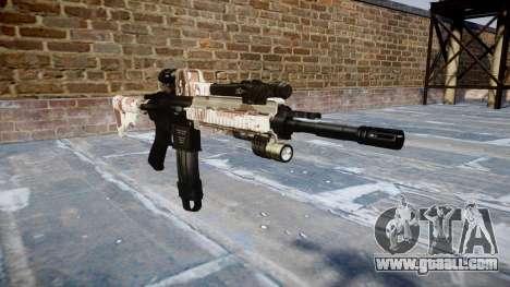 Automatic rifle Colt M4A1 choco for GTA 4
