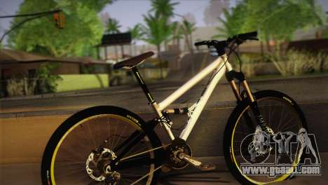 Banshee Rampant Bike for GTA San Andreas left view