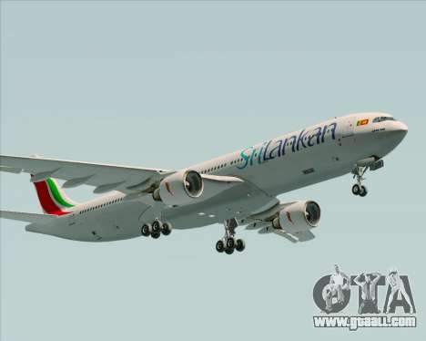 Airbus A330-300 SriLankan Airlines for GTA San Andreas inner view